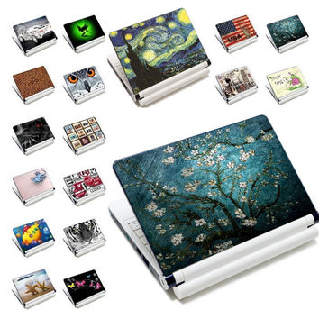 """7"""" 10"""" 12"""" 13"""" 13.3"""" 14"""" 15"""" 15.6"""" Notebook Laptop Skin Decal vinly stickers Cover Tablet Decel Protector For LENOVO DELL ACER"""