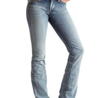Ariat Turquoise Antique Peony Jeans Urban Western Wear