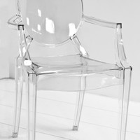 www.roomservicestore.com - Acrylic Louis Style Chair