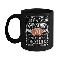 Vintage This Is What An Awesome 70 Year Old 1950 Birthday