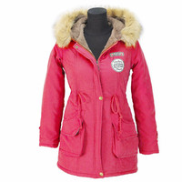 Autumn Parkas Winter Jacket Women Coats Fashion Warm