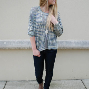 French Connection - Shimmer Mesh Sweater