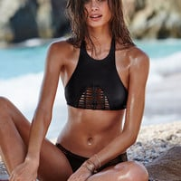 shown with the Macramé cheeky - Victoria's Secret