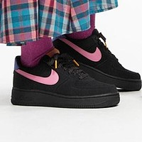 Nike Air force 1 Low Popular Women Men Leisure Sport Running Shoes Sneakers Black&Pink