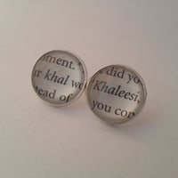Game of Thrones Khal and Khaleesi Stud by GlamorousGlueDesigns