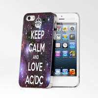 Keep Calm And Love Ac Dc iPhone 4s iphone 5 iphone 5s iphone 6 case, Samsung s3 samsung s4 samsung s5 note 3 note 4 case, iPod 4 5 Case