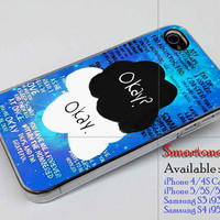 The Fault in Our Stars iphone 4,4s,5,5s,5c case ,samsung s3, s4 case ,accesories design by : smartonecase