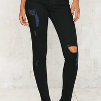 Cheap Monday Second Skin Jeans - Abyss