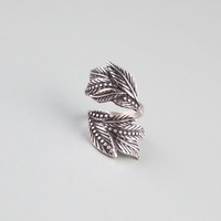 FULL TILT Leaf Wrap Ring 238676140 | Rings