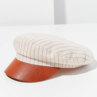 Striped Chambray Fisherman Hat   Urban Outfitters