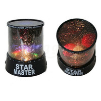 Colourful stars cosmos laser projector romantic gift from favwish