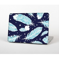 """The Blue Aztec Feathers and Stars Skin Set for the Apple MacBook Air 13"""""""