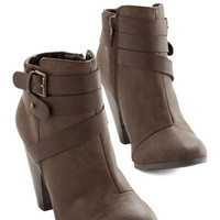 ModCloth Prized Obsession Bootie