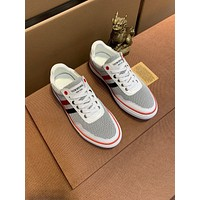 THOM BROWNE  Fashion Men Women's Casual Running Sport Shoes Sneakers Slipper Sandals High Heels Shoes