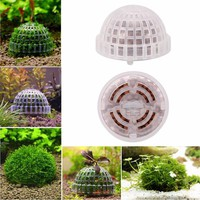 2017 DIY Aquarium Fish Tank Media Moss Ball Filter Decor for Live Plant Fish Aquatic Exquisite Decorations Ornamen Pet Supplies
