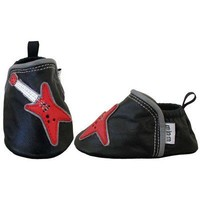 Red/Black Guitar Baby Shoes - Baby 0-18 months Baby Wit