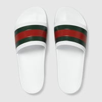 Gucci Rubber slide sandal