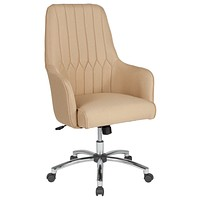 Albi Home and Office High Back Chair Decorative Line Stitching