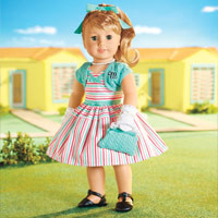 Truly Me™ Doll: Light Skin, Layered Blond Hair, Blue Eyes + Love to Layer Accessories | tmdoll | American Girl