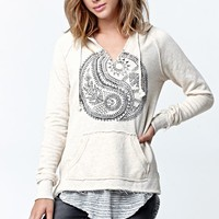 Billabong Holiday Pullover Hoodie - Womens Hoodie - White