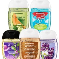 5-Pack PocketBac Sanitizers Must-Have Favorites