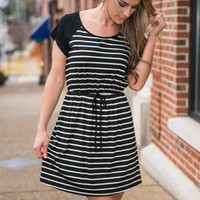Just You And Bay Dress, Black-Ivory