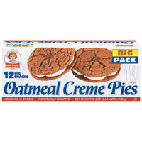 Walmart: Little Debbie: Oatmeal Creme Pies 12 Ct Snacks, 36 Oz