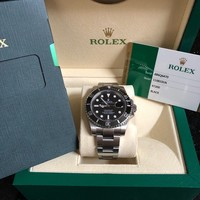 2015 Rolex Submariner Date 116610 LN Ceramic Stainless Steel Box & Papers
