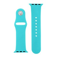 Totally Turquoise Silicone Sports  Watch Band for Apple Watch