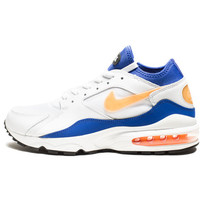 NIKE AIR MAX 93 - WHITE/HYPER BLUE/BLACK/BRIGHT CACTUS   Undefeated
