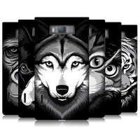 HEAD CASE BIG FACE ILLUSTRATED SERIES 2 BACK CASE COVER FOR LG OPTIMUS L7 P700