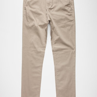 Rsq Seattle Mens Skinny Tapered Chino Pants Light Tan  In Sizes