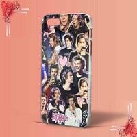 harry styles collage one direction for iPhone 4/4S,5,5c,5s,6 & samsung galaxy S3,S4,S5 Case Hard Plastic Cover