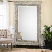 Arenzano Antiqued Ivory Wall Mirror