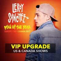 VIP Upgrade - US/CA Man of the Year Tour