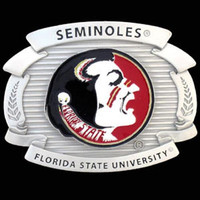 Florida State Seminoles NCAA Oversized Belt Buckle