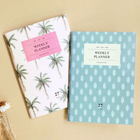 Iconic Simple and Slim weekly planner A6 size ver.2