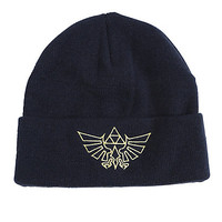 The Legend Of Zelda Triforce Watchman Beanie