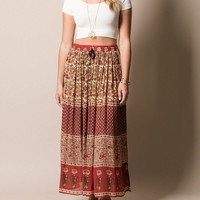 Free To Be Maxi Skirt