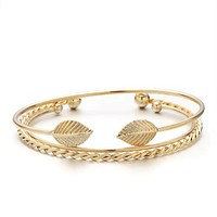 Bangle Cuff with Trendy Charms Indian Jewelry
