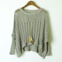 Fashion knitwear sweater