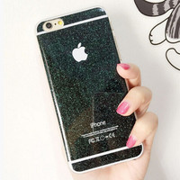 Twinkle Silicone creative case for iPhone 5S 6 6S Plus Gift