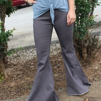 Keep It Moving Flare Jeans