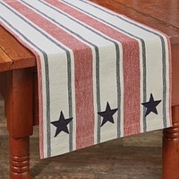 """Stars and Stripes Table Runner - 36""""L"""