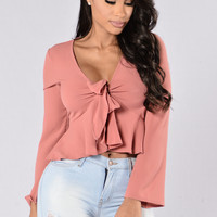 Leeor Top - Dark Mauve