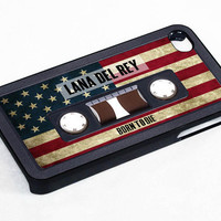 Case iphone 4 and 5 for Lana Del Rey Born To Die Cassette