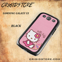 Hello Kitty Pink Lemon For Samsung Galaxy S3 Case - Gift Present Multiple Choice