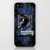 Harry potter Ravenclaw team flag emblem apple iPhone 3, 4 4s, 5 5s 5c, iPod & samsung galaxy s4 case cover