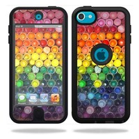 Mightyskins Protective Vinyl Skin Decal Cover for OtterBox Defender Apple iPod Touch 5G 5th Generation Case Color Me