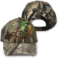 Chevrolet Camo Realtree Cap-Chevy Mall